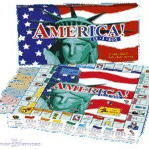 America in a Box Board Game